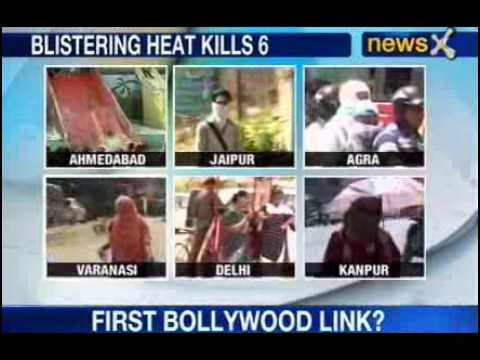 Blistering heat in India kills 6