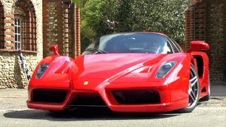 The LOUDEST CAR EVER! - Decatted Ferrari Enzo! (revs, accelerations and sounds)