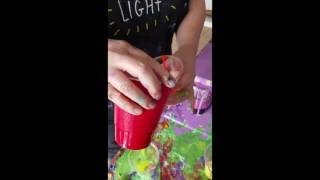 Mixing Acrylics for Fluid Pours- Part 1