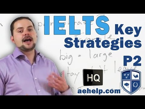 IELTS Key Strategies and Skills for a Better Score Lesson 2