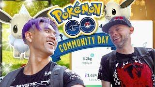 EEVEE COMMUNITY [ DAY 1] POKEMON GO  (2018)