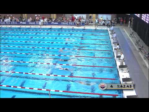 Women's 200m Butterfly C Final - 2012 Columbus Grand Prix