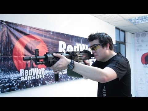 ARES KNIGHTS LMG World Exclusive First Look (HD) - Redwolf Airsoft - RWTV
