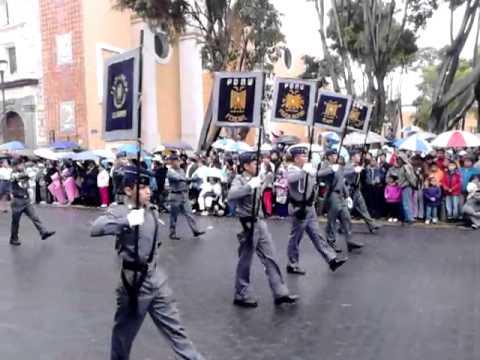 Pentathlon Deportivo Militar Universitario desfile
