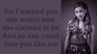 Ariana Grande ~ Nobody Does It Better ~ Lyrics