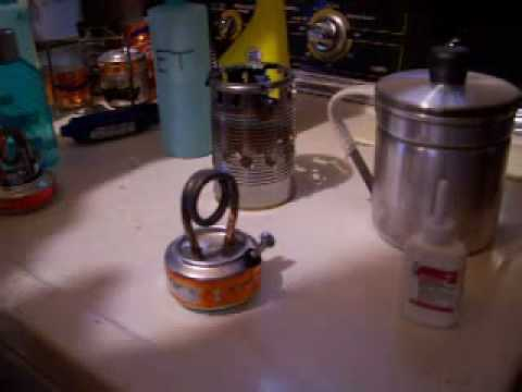 Copper Coil Alcohol Stove