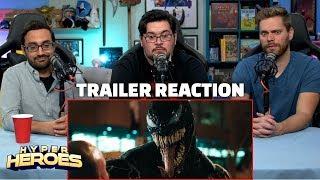 VENOM - Official Trailer Reaction