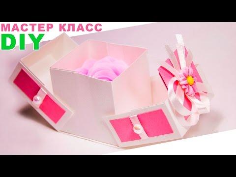 Как сделать коробочку без ножниц и клея
