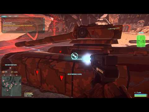 Planetside 2 Gameplay - Bloodying The NC (Drunk)