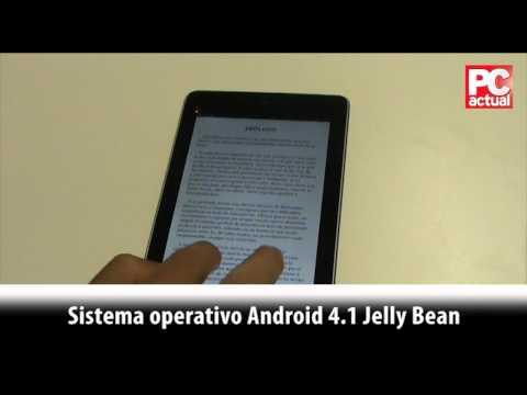 Videoan�lisis: Asus Google Nexus 7