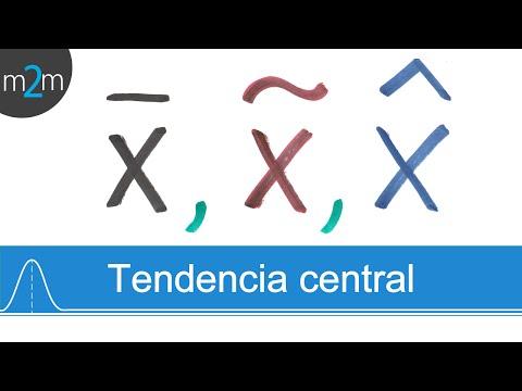 Ejercicios de medidas de tendencia central