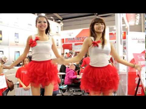 Cute asian girls sexy dance 2014