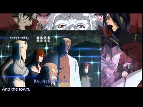 Naruto Shippuden Opening 16 'Silhouette' English Dub By PelleK 1