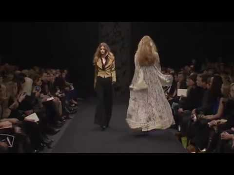 avsh alom gur for ossie clark a/w 09/10 Video