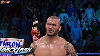 WWE 2K17 - Backlash 2017 Kane Returns & Attacks Randy Orton