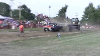 chevy truck pull 2wd 2 wheel drive wood hauler express