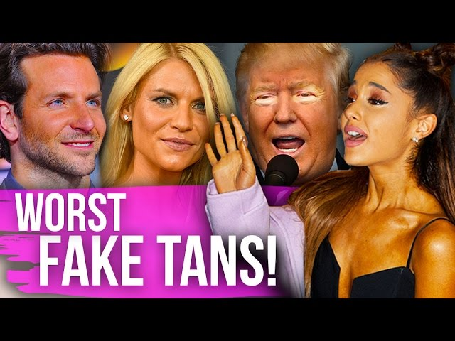 10 Most SHOCKING Celebrity Fake Tan FAILS! (Dirty Laundry)