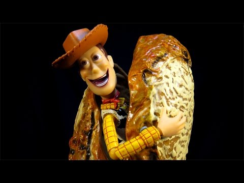 REVOLTECH TOY  STORY NO. 10 BOOTLEG KO WOODY - THE REVIEW THAT NEVER WAS