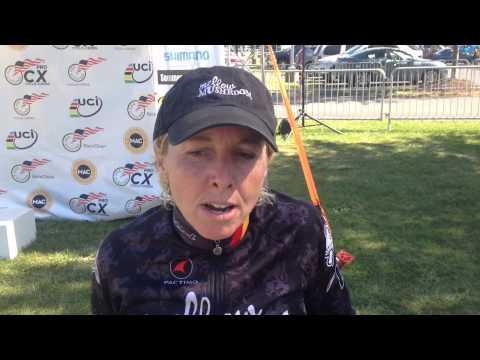 Laura Van Gilder Interview - Post-nittany Lion Cyclocross Day 2 Win video
