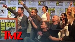Stan Lee  X-ecutes Greatest Superhero Selfie ... Ever!!!