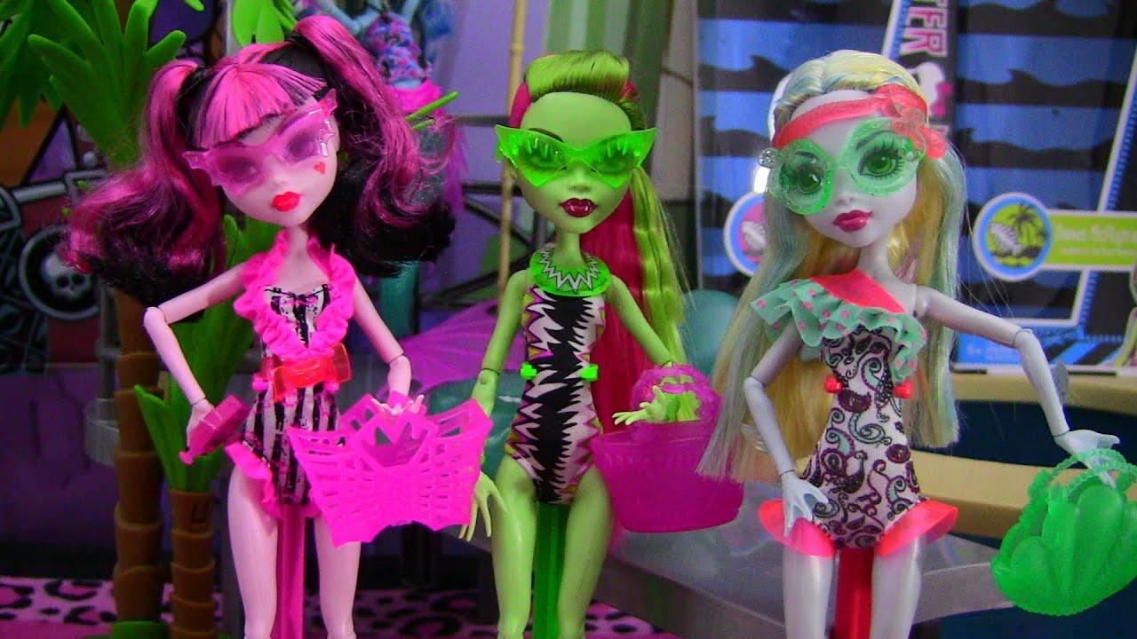 Monster High Lagoona Blue Swim Doll Monster High Swim Dolls Venus