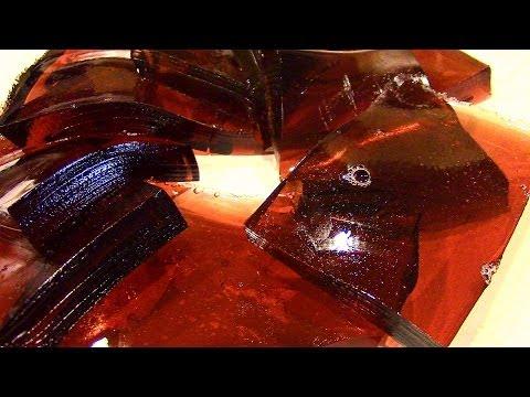 How to make Jello Jigglers using fruit juice!-Healthy Jello Jigglers