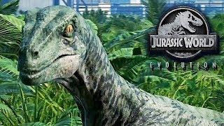 Jurassic World Evolution Gameplay German #11 - Rette mich Blue !