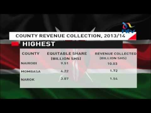 County Revenues: Nairobi may no longer need central fund transfers in the future