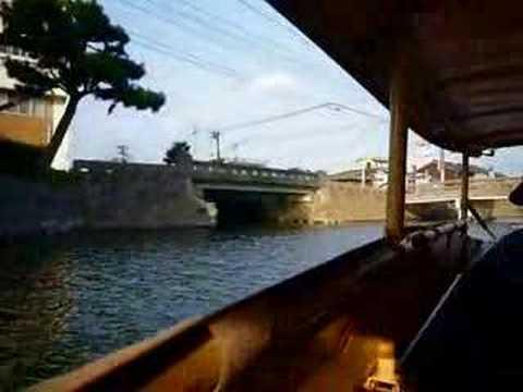 松江 堀川遊覧船