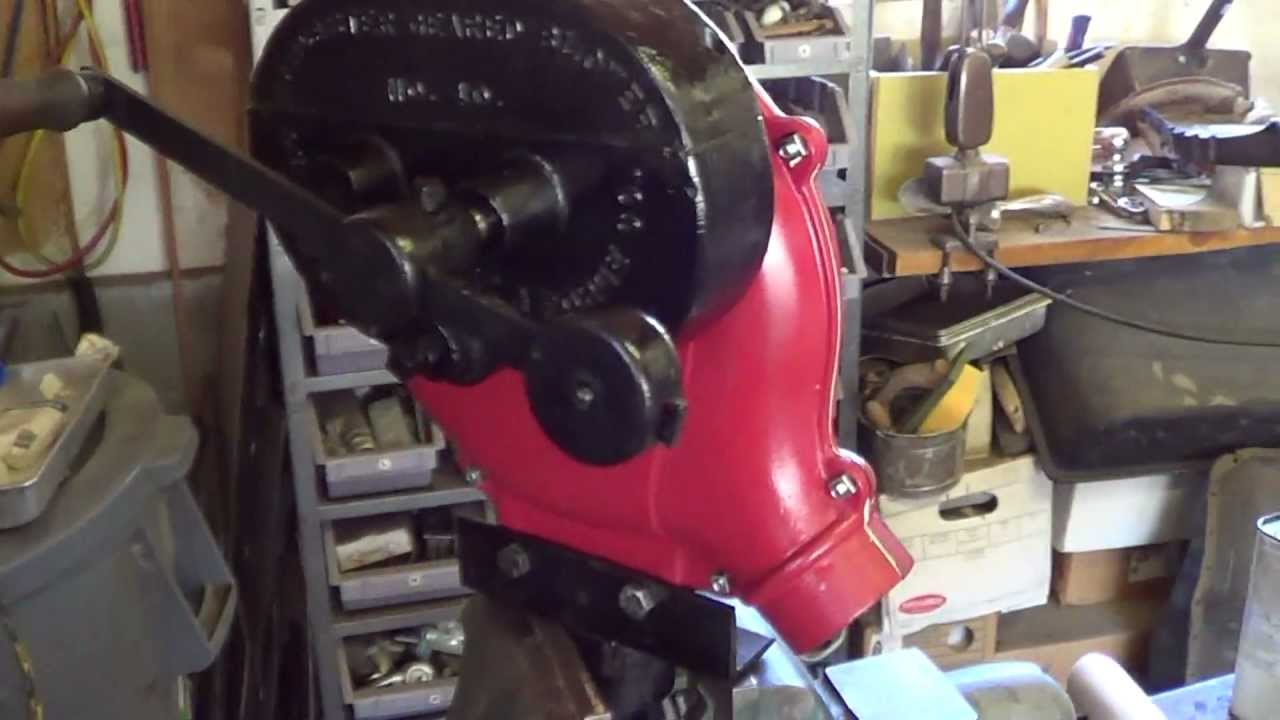 Champion  40 Lancaster  Pa  Forge Blower    Crank Bellows