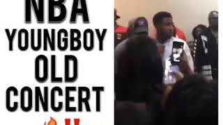 Nba Youngboy First Show Before The Fame