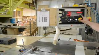 SCM SI 400E Sliding Table Saw