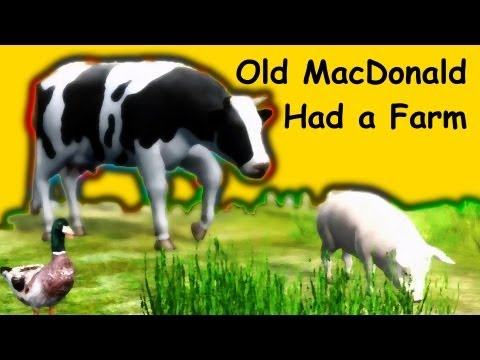 Muffin Songs - Old MacDonald Had a Farm | nursery rhymes & children songs wi