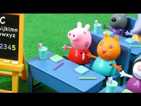 Peppa Pig Classroom Playset Bandai