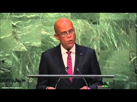 UN Speeches: Haiti President Michel Martelly