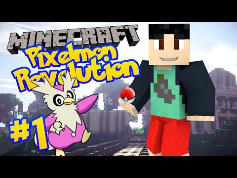Minecraft: Pixelmon 3.4 PokeRevolution Server Lets Play - Episode 1 - SHINY DELIBIRD (Pixelmon 3.4)