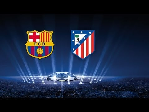 Barcelona 1 1  Atletico de Madrid 01 04 2014 Promo Champions 2014