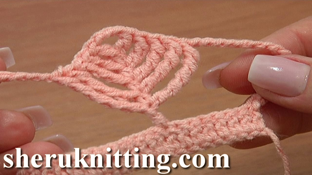 Different Crochet Stitches Youtube : ... Complex Leaf Stitch Tutorial 22 Crochet Tall Stitches - YouTube