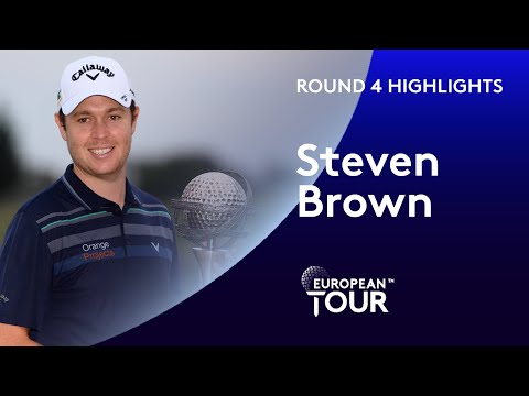 Steven Brown wins maiden European Tour title | 2019 Portugal Masters