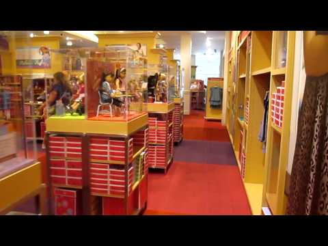 American Girl Place Atlanta Store Tour!
