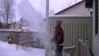 Watch Boiling Water Turn To Snow In -31 Degrees Celcius