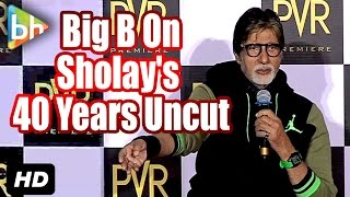 Event Uncut: Amitabh Bachchan Speaks About 40 Years Of Sholay