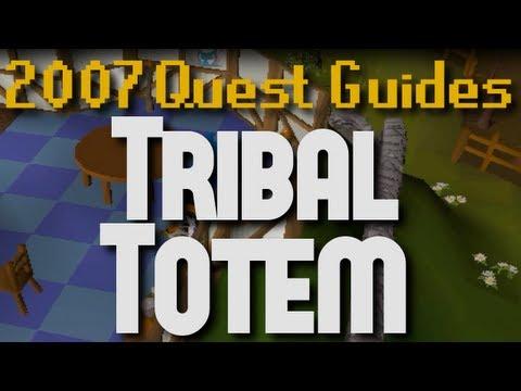 Runescape 2007 Quest Guides: Tribal Totem