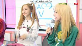[아이스크림TV150318] Red Velvet - Somethin Kinda Crazy