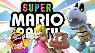 Super Mario Party - Rich in Friends (4-player Gameplay)