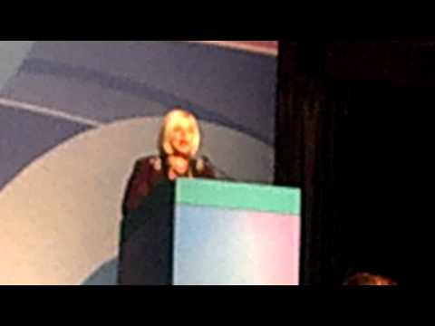 NSD Nancy Bonner's speech at Career Conference