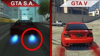 THE BIG GTA San Andreas vs. GTA V SBS COMPARISON 2 | PC | ULTRA