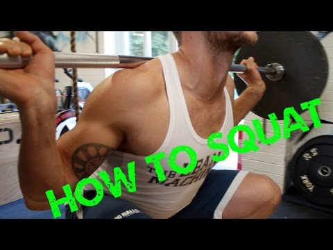 HOW TO SQUAT WITH IRON MAC FITNESS