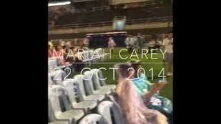 15 Mins Video Of Mariah Carey The Elusive Show Kuala Lumpur 2014