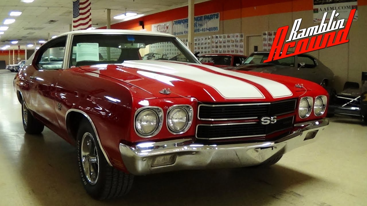 1970 Chevrolet Chevelle SS 454 LS5 Factory A/C - Numbers ...